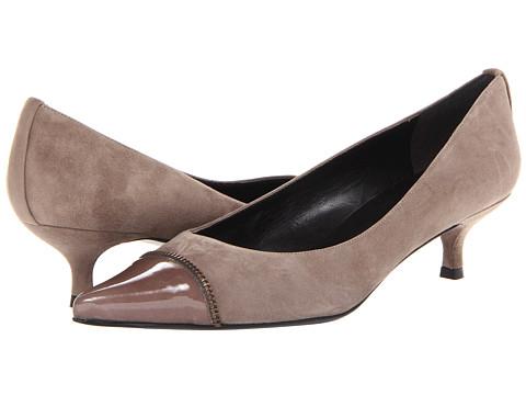 Pantofi Stuart Weitzman - Ziptip - Neutral Suede