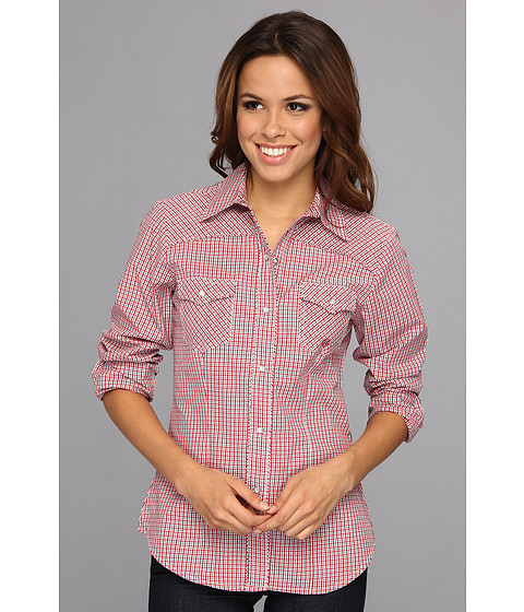 Camasi Roper - 9018 Summer Check - Red - Red