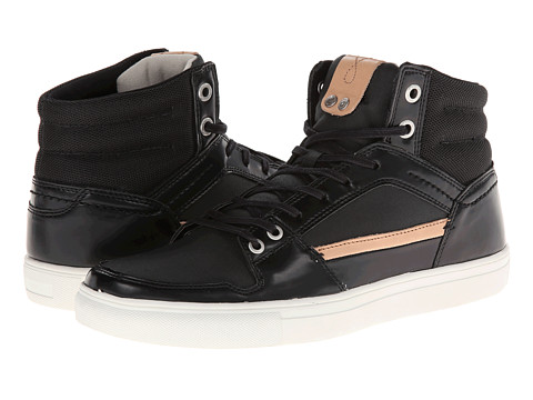 Adidasi Calvin Klein Jeans - Carlos - Black High Shine Smooth