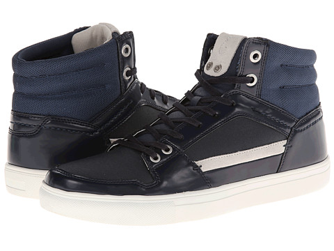 Adidasi Calvin Klein Jeans - Carlos - Midnight High Shine Smooth