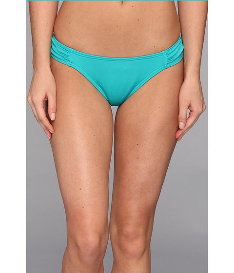 Costume de baie Volcom - Simply Solid Soft Side Modest Reversible Bikini Bottom - Teal