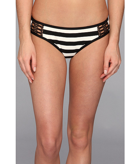Costume de baie Ella Moss - Cabana Stripe Retro Pant - Black