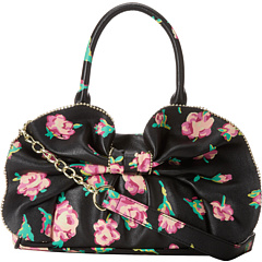 Geanta eleganta Betsey Johnson Bow-Dacious Medium Satchel