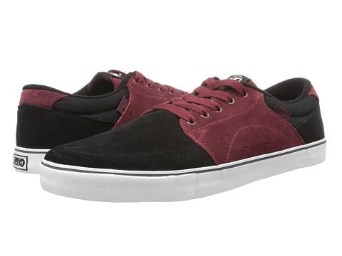 Adidasi DVS Shoe Company - Jarvis - Black/Port Suede HOL 13