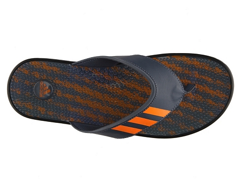 Pantofi adidas - Adissage Flip Flop - Grey/Orange/Black