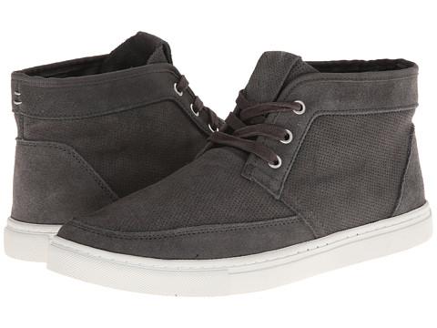 Adidasi Calvin Klein Jeans - Hamlin - Dark Grey Perf Suede