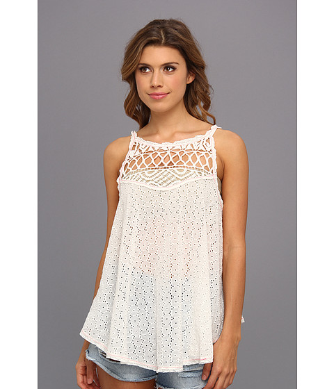 Bluze Free People - I Got My Eyelet On You Top - Alabaster