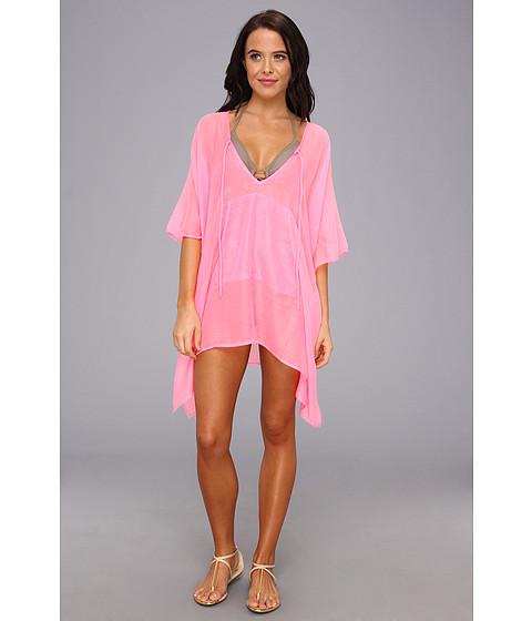 Costume de baie Echo Design - Solid Kangaroo Poncho - Hot Pink