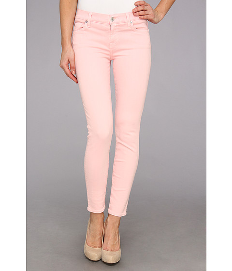 Blugi 7 For All Mankind - The Ankle Skinny in Blush Pink - Blush Pink
