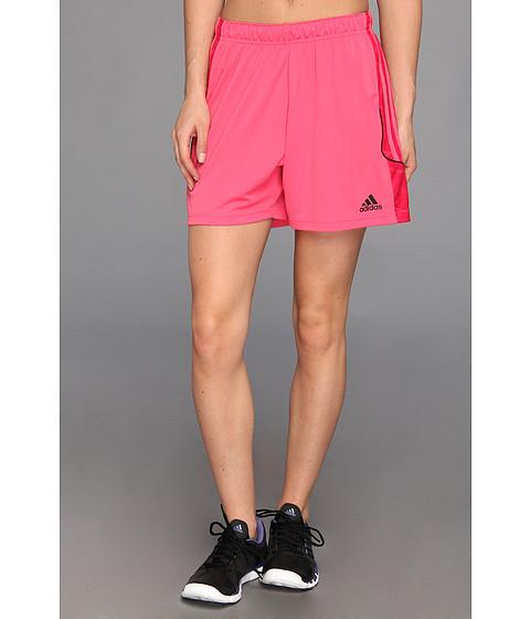 Pantaloni adidas - Squadra + Short - Bahia Pink/Vivid Berry