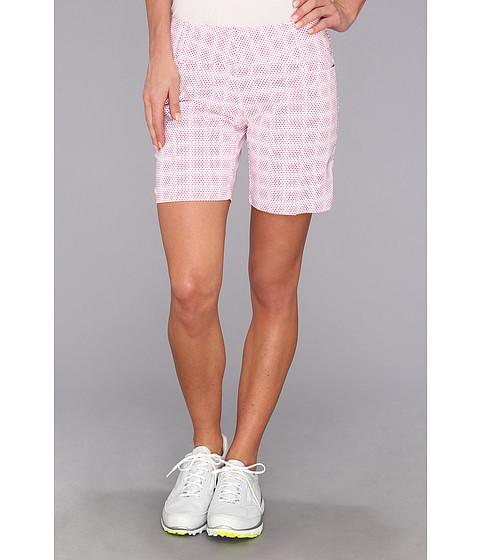 Pantaloni adidas - Dot Print Short \14 - White/Bahia Magenta