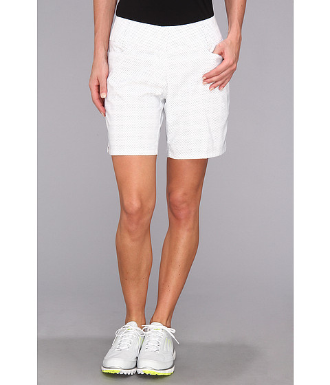 Pantaloni adidas - Dot Print Short \14 - White/Light Onix