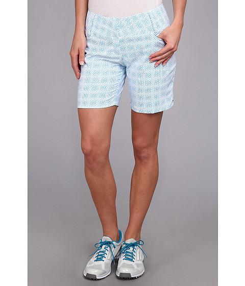 Pantaloni adidas - Dot Print Short \14 - White/Solar Blue