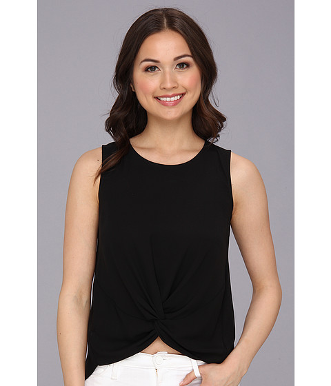 Bluze BCBGeneration - Woven Sportswear Tank - Black