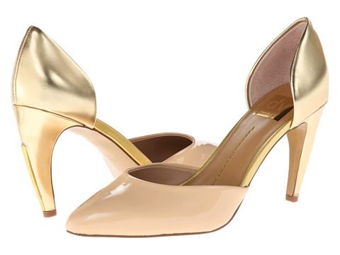 Pantofi Dolce Vita - Pamona - Blush/Gold Patent Leather