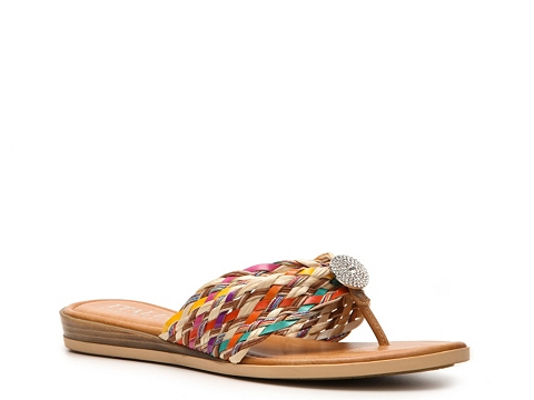 Sandale Italian Shoemakers - Lillian Flat Sandal - Multicolor