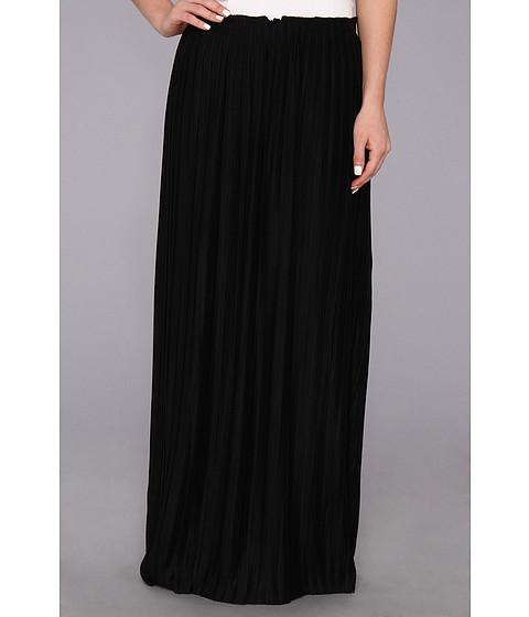 Fuste Calvin Klein - Pleated Maxi Skirt M4BGL012 - Black