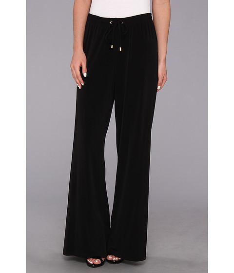 Pantaloni Calvin Klein - Jersey Wide Leg Pant - Black