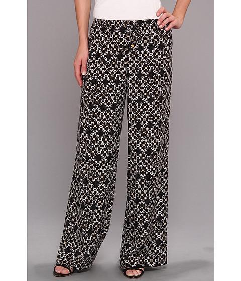 Pantaloni Calvin Klein - Printed Drawstring Pant - Black/Ivory Combo