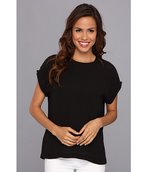 "Bluze BCBGMAXAZRIA - ""Fifi\"" Relaxed Top With Wide Sleeves - Black"