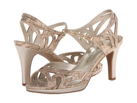 Pantofi Bella-Vita - Claudette II - Gold Snake