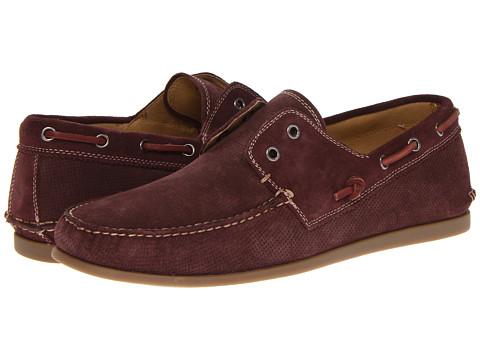 Pantofi John Varvatos - Schooner Boat - Oxblood