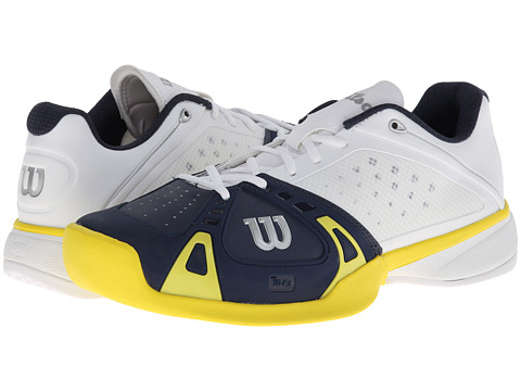 Adidasi Wilson - Rush Pro - White/Navy/Yellow