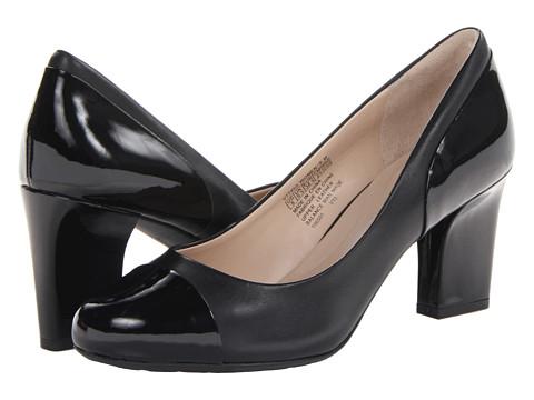 Pantofi Rockport - Seven to 7 Colorblock Mid Heel - Black