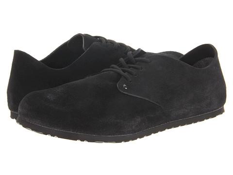 Pantofi Birkenstock - Maine - Black Suede