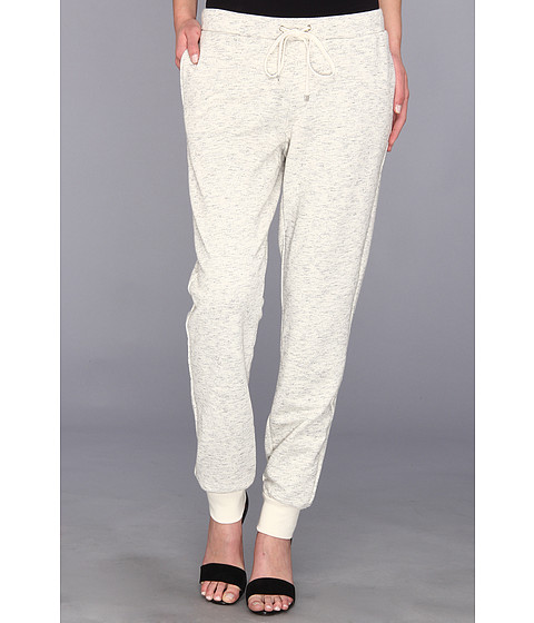 Pantaloni Vince Camuto - French Terry Drawstring Sweatpant - Glacier Grey