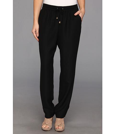 Pantaloni Vince Camuto - Tie Waist Crepe Pant - Rich Black