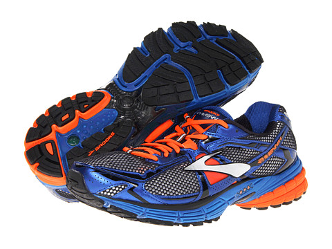 Adidasi Brooks - Ravenna 4 - White/Olympian Blue/Black/Shocking Orange//Silver/Red Orange