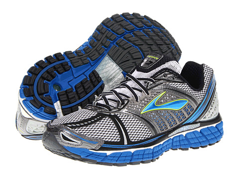 "Adidasi Brooks - Tranceâ""¢ 12 - White/Silver/Black/Olympic/NightLife"