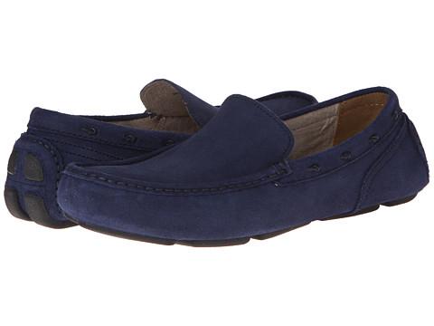 Pantofi Marc New York by Andrew Marc - Astor - Navy/Black Embossed Suede