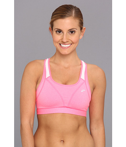 Lenjerie Brooks - Versatile Bra - Heather Brite Pink/White