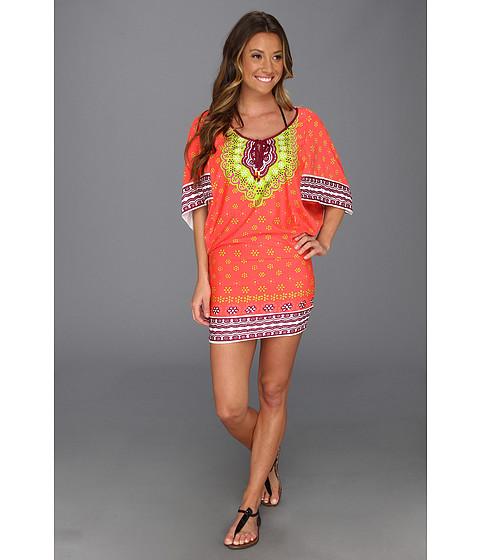 Costume de baie Trina Turk - Seychelles Tunic - Papaya