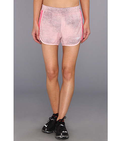 Pantaloni Brooks - Epiphany Stretch Short II SE - Petal Mist Print/Brite Pink