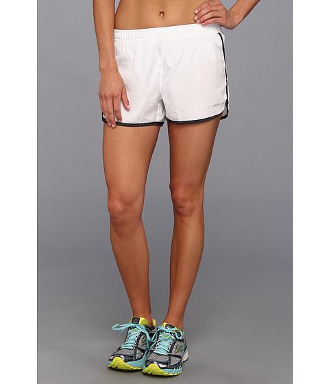 """Pantaloni Brooks - Versatile 3.5\"""" Woven Short - White/Anthracite"""