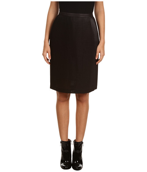 Fuste Armani Jeans - Short Pleated Skirt - Black
