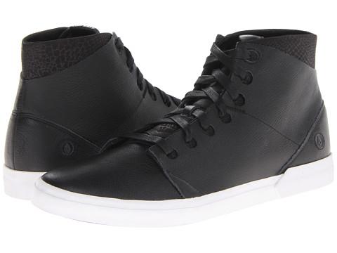 Adidasi Volcom - Buzzard - Black Leather/Embossed