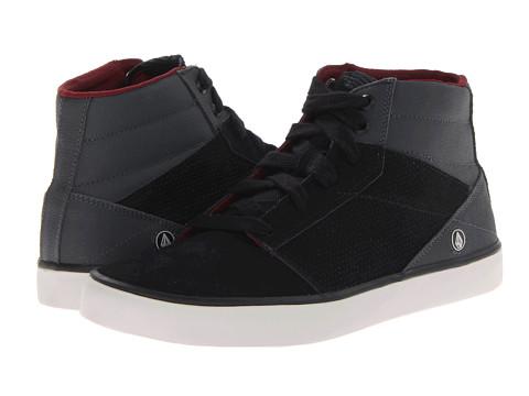 Adidasi Volcom - Grimm Mid - Black/Grey Suede