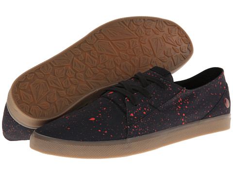 Adidasi Volcom - Lo Fi - Red Drip/Splatter Stone Print Poly