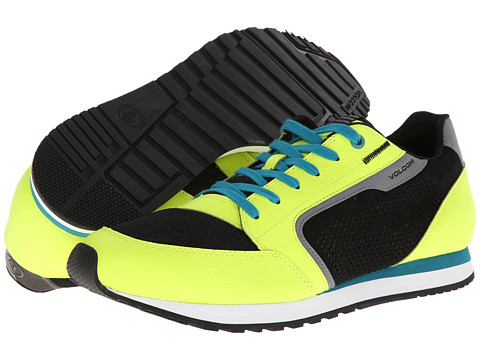 Adidasi Volcom - Ninety One - Neon Green Leather