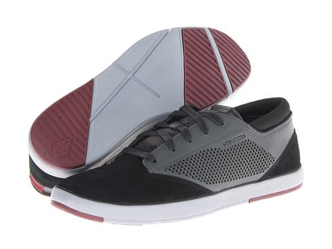 Adidasi Volcom - Quinn - Charcoal Suede/Full Grain Leather