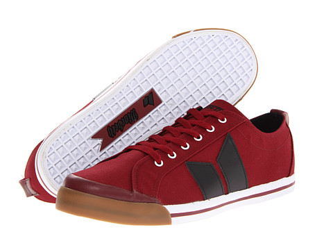 Adidasi Macbeth - Eliot Vegan - Ox Blood/Black