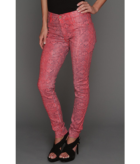 Blugi James Jeans - James Twiggy Skin in Ruby Alligator - Ruby Alligator