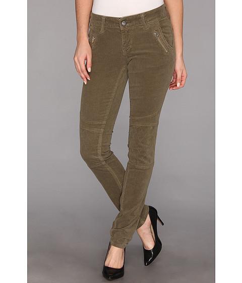 Pantaloni Mavi Jeans - Lena Lowrise Skinny Moto Cord - Khaki Cord