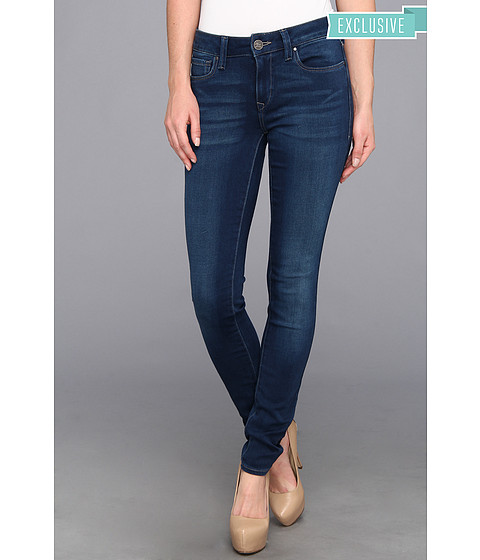 Blugi Mavi Jeans - Adriana Mid-Rise Super Skinny in Dark Lux Sateen - Dark Lux Sateen