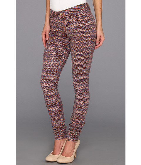 Blugi Mavi Jeans - Alexa Mid-Rise Super Skinny in Ikat - Ikat