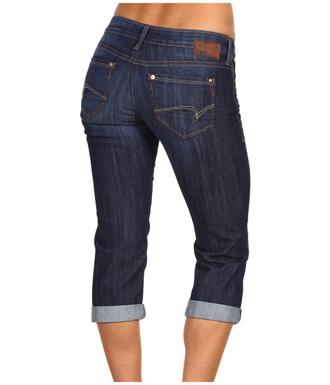Blugi Mavi Jeans - Alma Low-Rise Capri in Dark Dominique - Dark Dominique